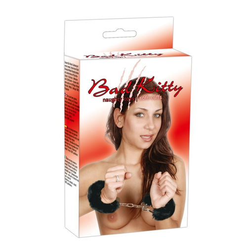 Bad Kitty Handcuffs black