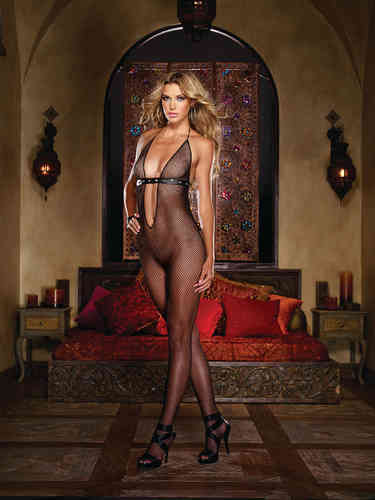 Dreamgirl - Bodystocking 0177 schwarz