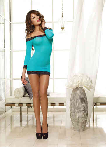 Dreamgirl - Chemise 8084 turquoise