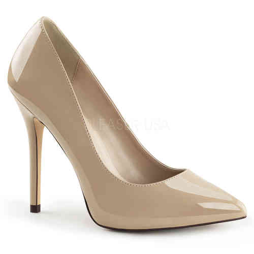 Pleaser - Amuse 20 Pumps Creme