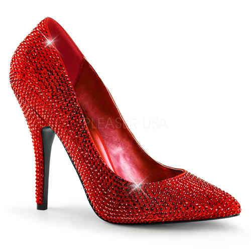 Pleaser - Seduce 420RS Pumps Red