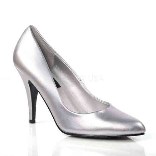 Pleaser - Vanity 420 Pumps Silver