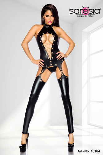 Saresia - Wetlook Straps-Set