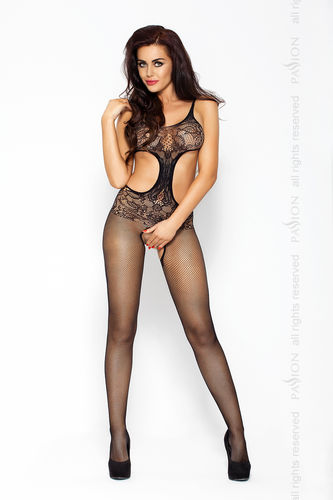 Passion - Bodystocking BS004 Schwarz