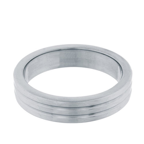 Steel Power - Cockring Ribbed 40 mm