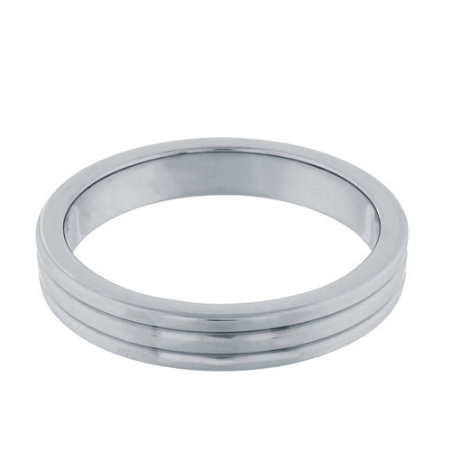 Steel Power - Cockring Ribbed 50 mm