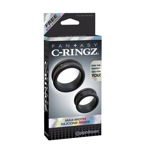 Pipedream - Max Width Silicone Ring Black