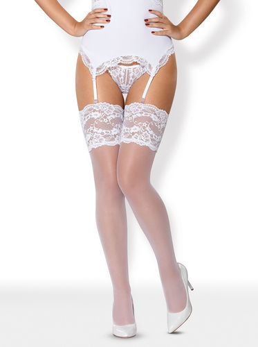 Obsessive - Stockings Weiss 810-STO-2