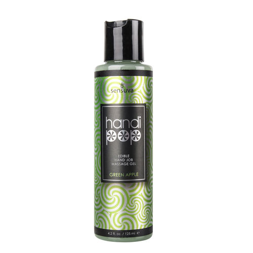 Sensuva - Handjob Massage Gel 125ml Green Apple