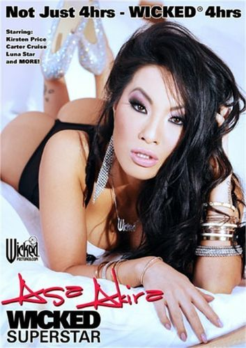 Asa Akira Wicked Superstar DVD