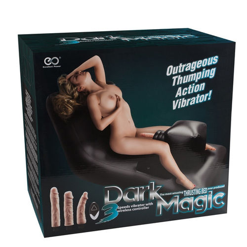 Dark Magic Thrusting Bed