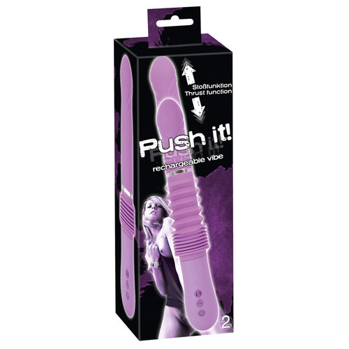 Push it! Vibrator mit Stossfunktion