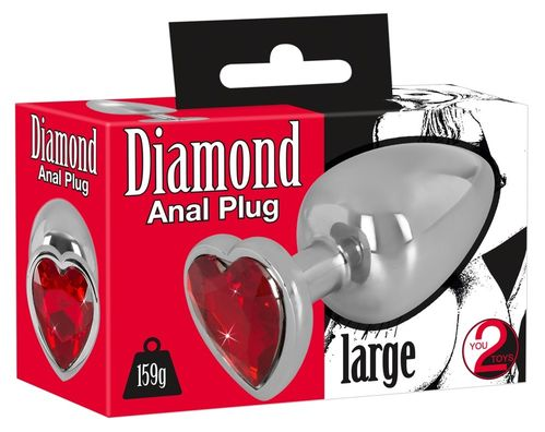 Diamond Anal Plug Large