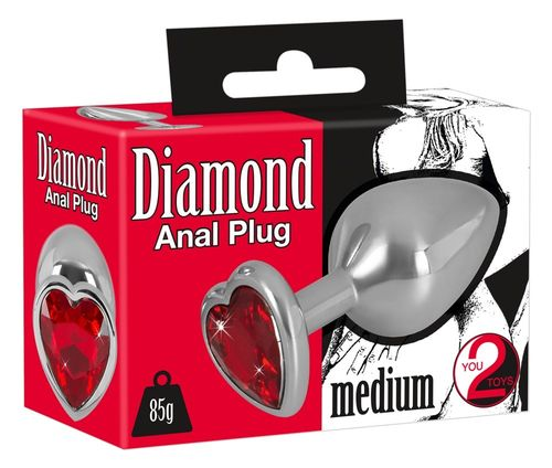 Diamond Analplug Medium
