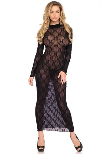 Leg Avenue - Long sleeved long dress