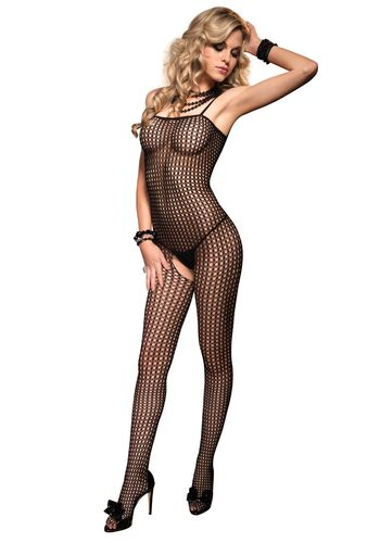 Leg Avenue - Seamless Crochet Bodystocking