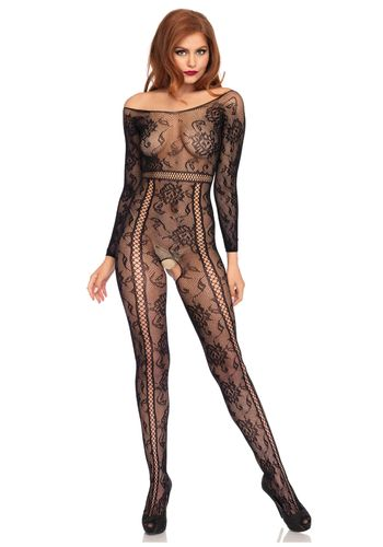 Leg Avenue - Long sleeved bodystocking